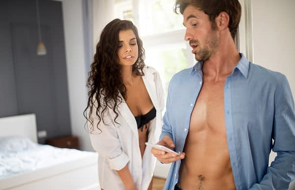 Is he cheating on you? Here are the signs ...