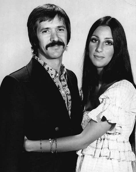 A photo of Sonny and Cher in 1971. CBS Television / Wikimedia Commons / Public Domain.