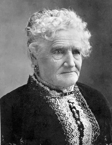Esther Morris. WSA Sub Neg 2666 / WYO State Archives.