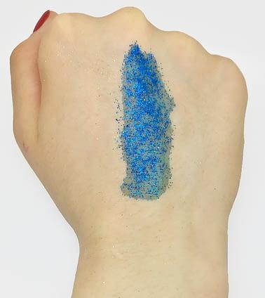 Stargazer Blue Glitter Lipstick