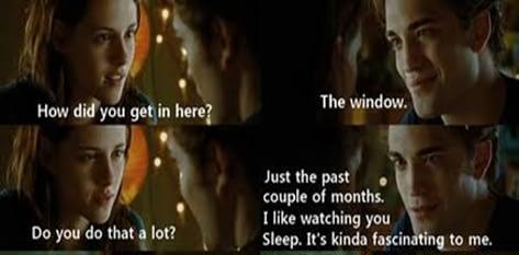 Edward Watching Bella Sleep