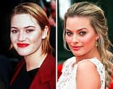 Kate Winslet and Margot Robbie, 25