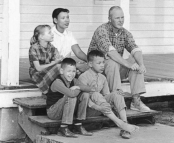 Richard and Mildred Loving had three children together. History.