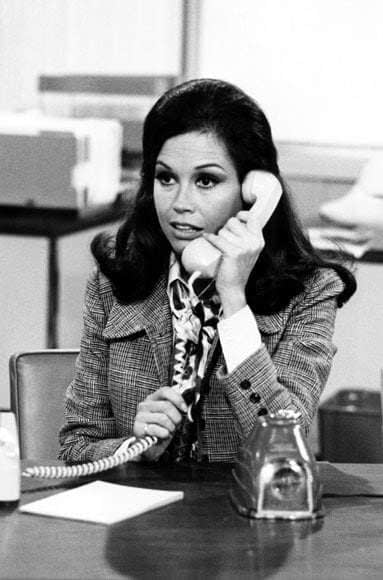 A clip from the Mary Tyler Moore show. The 1970s Story.