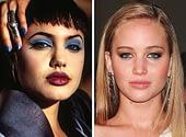 Angelina Jolie and Jennifer Lawrence, 20