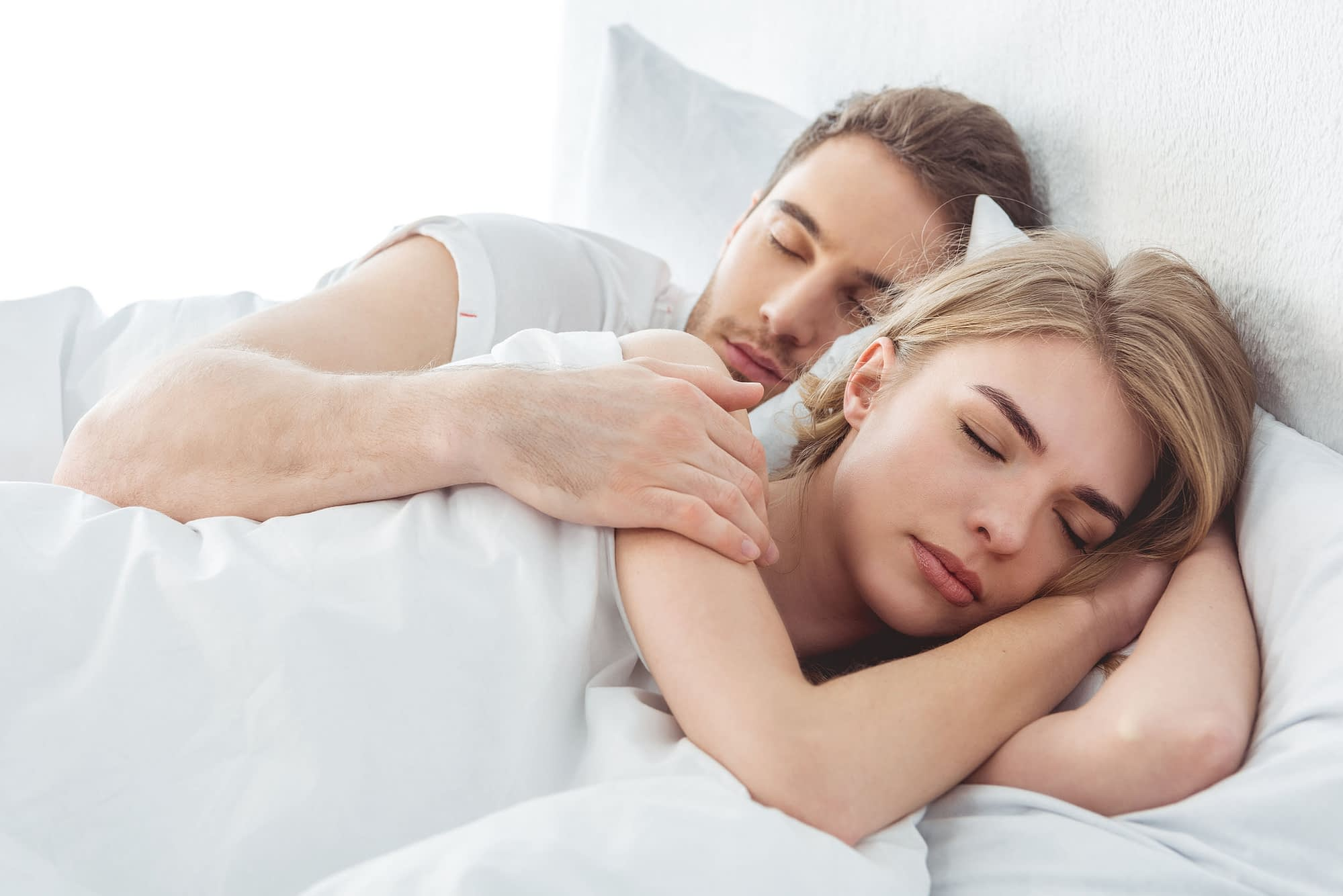 What does it mean when your boyfriend watches you sleep?