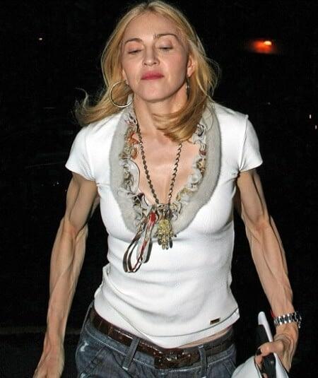 Madonna-Veiny-Arms