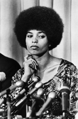 Angela Davis in 1969. Bettmann / CORBIS.
